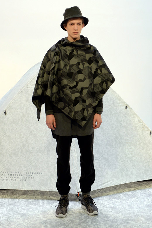 Yosuke Aizawa for White Mountaineering Fall-Winter 2015/2016 collection