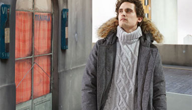 100% Merino wool outerwear by Woolrich