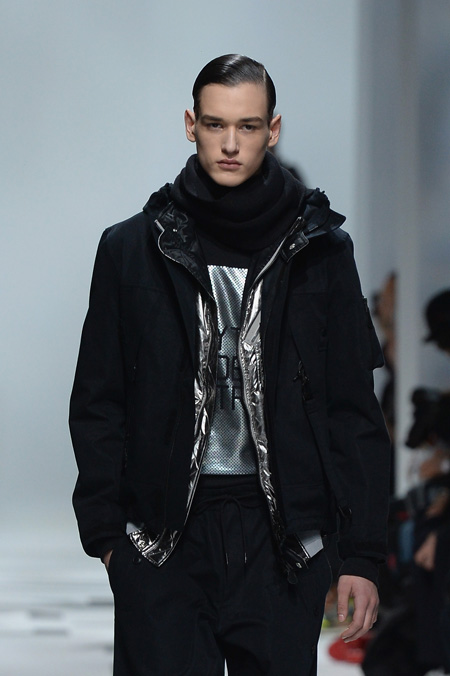 Y3 presented Autumn/Winter 2015 during Paris Men's Fashion Week