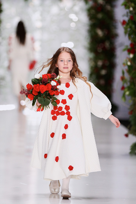 Yulia Prokhorova presented Fall/Winter 2015-2016 during Mercedes-Benz Fashion Week Russia