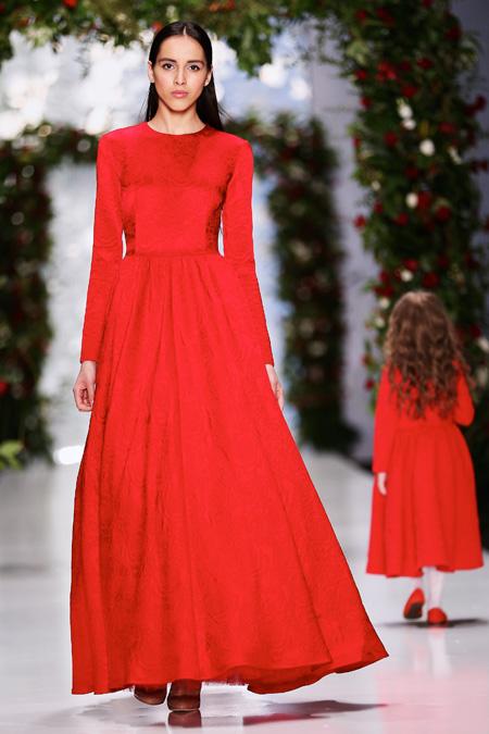 Yulia Prokhorova presented Fall/Winter 2015-2016 during Mercedes-Benz Fashion Week Russia