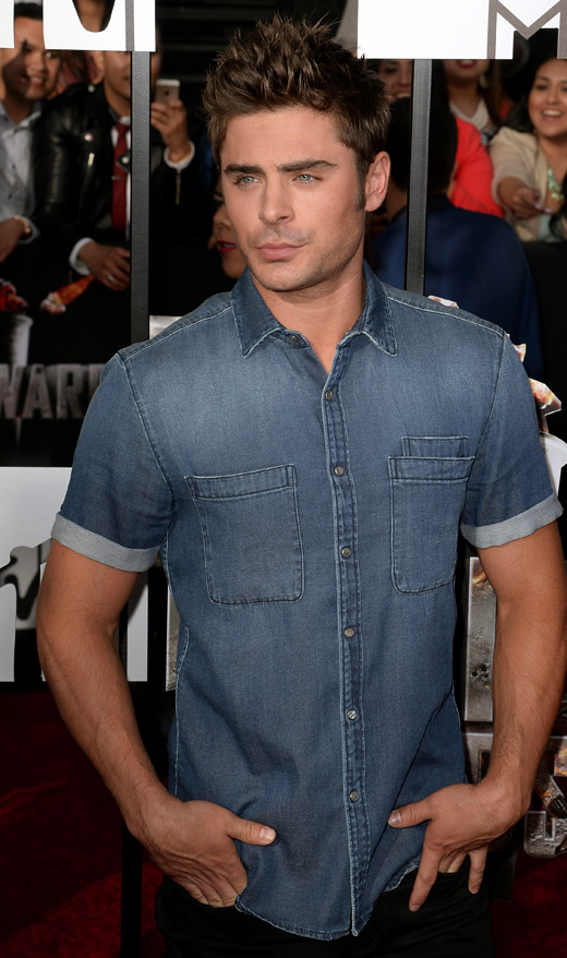 Celebrities\u0027 style Zac Efron
