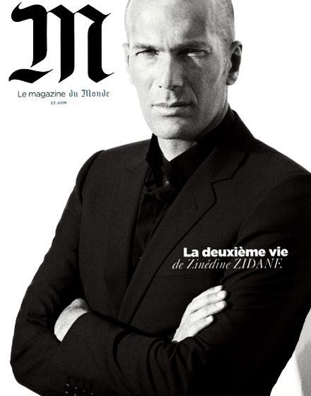 Zinedine Zidane is the winner in Most Stylish Men 2015 - Category Sport