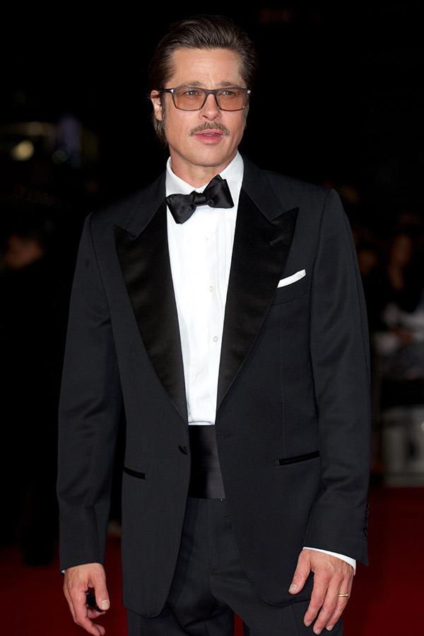 Brad Pitt's suiting style