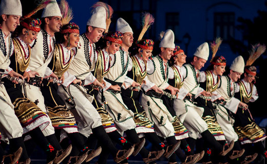 National Folklore Ensemble 'BULGARE' present Bulgarian fashion and folklore in the Netherlands