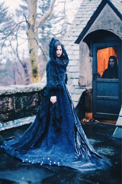 Lauren Tormenta will present a collection inspired by Medieval Castles during Couture Fashion Week New York