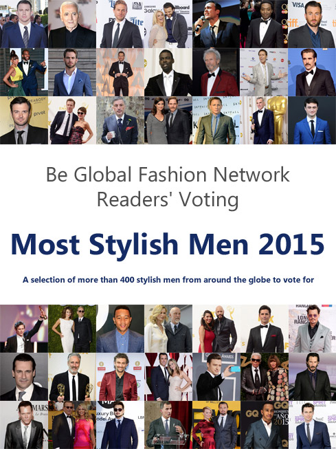 Vote for the Most Stylish Men of 2015 and win a made-to-measure jacket