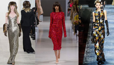 Fall/Winter 2015-2016 fashion trends: Sequins
