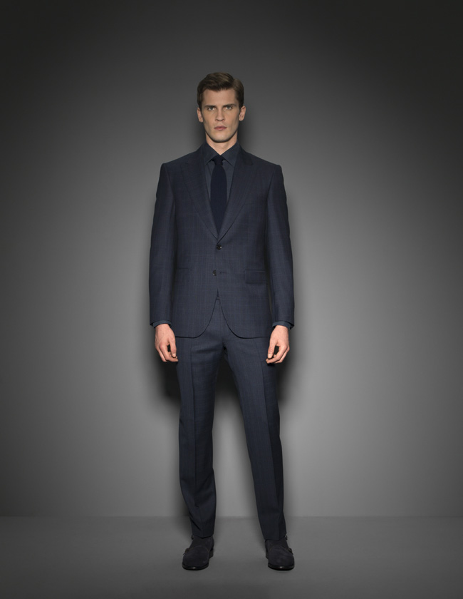 SCABAL Autumn/Winter 2016 men's suits collection