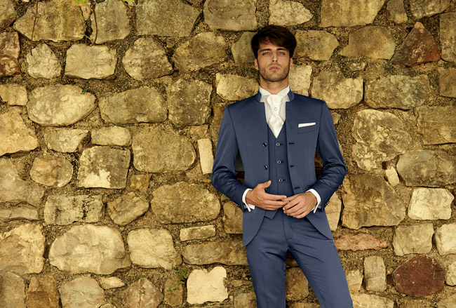 Official menswear for Spring-Summer 2016 by 1911 Lubiam Cerimonia