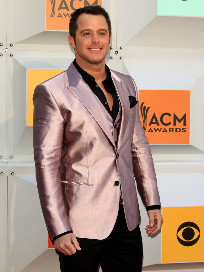 Academy of Country Music Awards Gala - Black is not in fashion