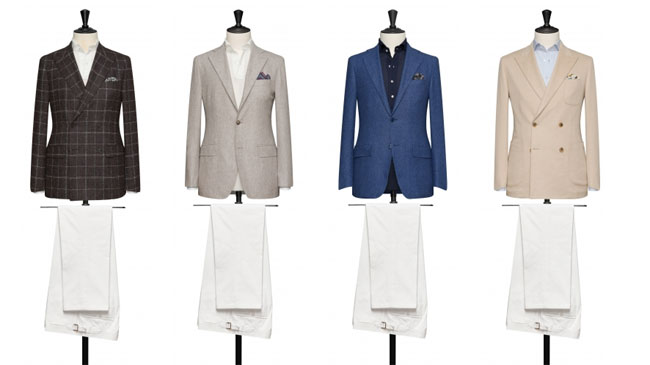 Swiss made-to-measure suits by Alferano