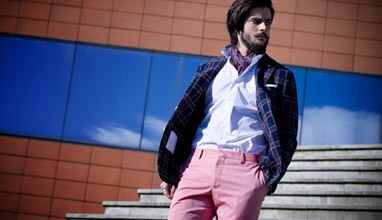 Andrea Neri menswear as exaltation of Tuscany beauty