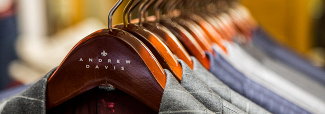 Bespoke and made-to-measure menswear by Andrew Davis Clothiers