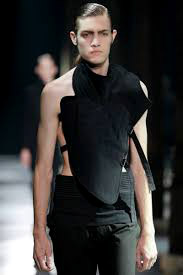 Men's fashion by Ann Demeulemeester