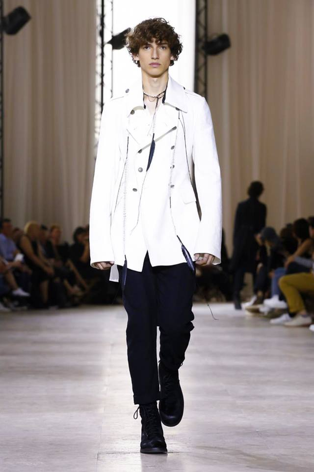 Ann Demeulemeester Spring-Summer 2017 men's collection