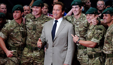 Arnold Schwarzenegger - the stylish Governor