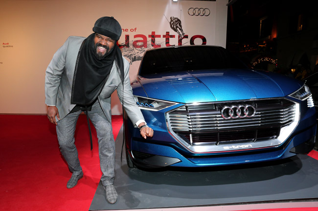 'Audi Night' in Kitzb?hel with Jason Statham and Luke Evans