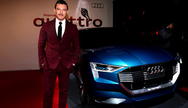 'Audi Night' in Kitzbühel with Jason Statham and Luke Evans