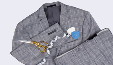 Made-to-measure suits by BACHRACH