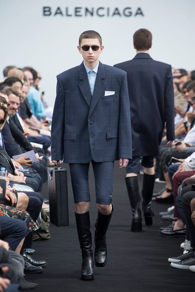 Balenciaga Spring-Summer 2017 Men's collection