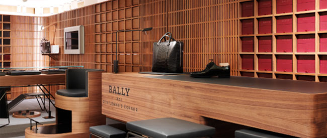 Made-to-order shoes by Bally