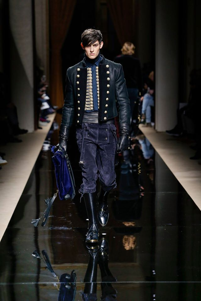 Balmain Homme Fall-Winter 2016/2017 collection
