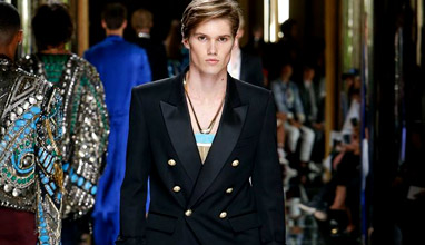 Balmain Homme Spring-Summer 2017 collection