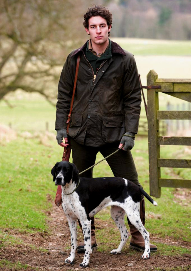 More about the Barbour jacket - Details and Variations
