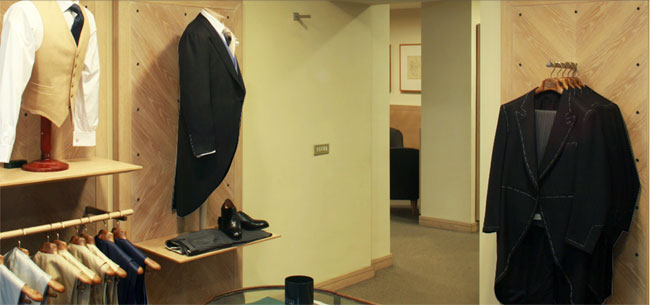 Italian suits by M. Bardelli