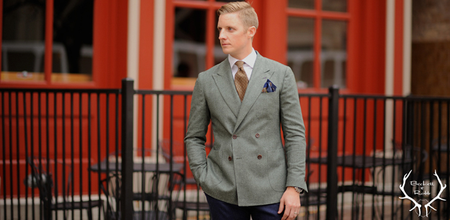 Custom suits and shirts by Beckett and Robb