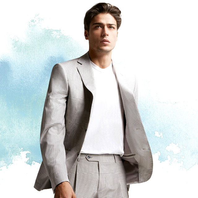 Belvest Spring-Summer 2016 men's suit collection