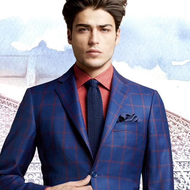 Belvest Spring-Summer 2016 men's suit collection