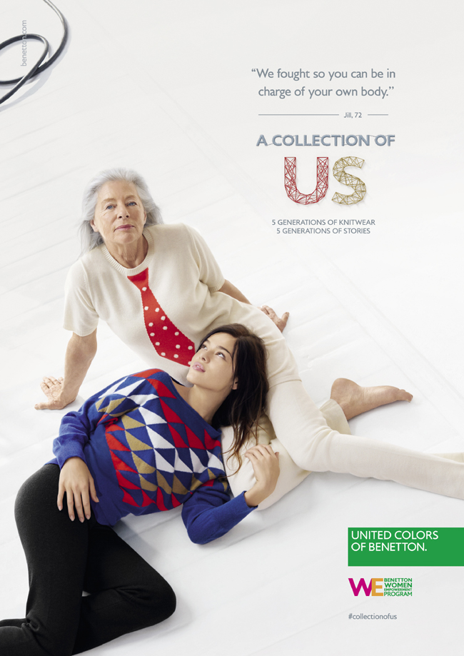 UNITED COLORS OF BENETTON: merging colours, blending identities