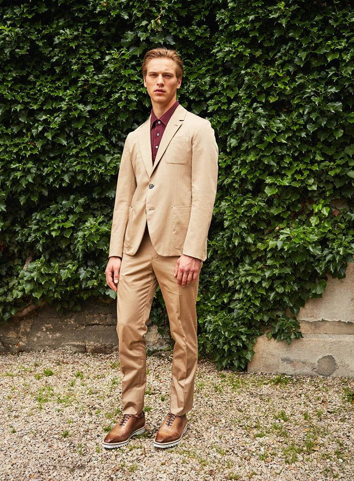 Menswear for Spring-Summer 2017 by Berluti