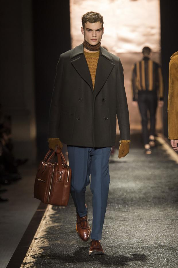 Berluti Fall/Winter 2016 collection - a minimalistic, casual collection