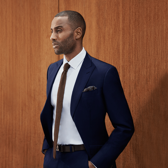 Custom made suits based in New York by Black Lapel