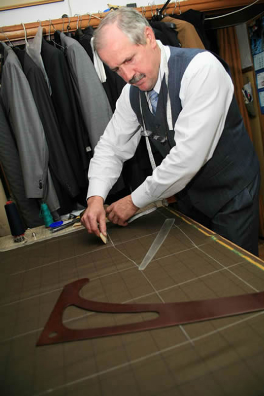 Polish bespoke suits by Josef Blonski