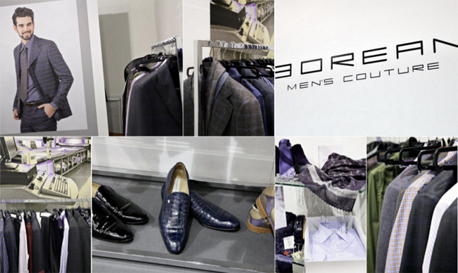 Borean Men's Couture - a result of a long research and design