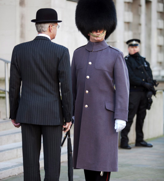 Menswear accessories: Bowler hat