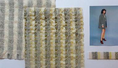 Wool-rich fabric by Lizzie Kimbley won the 2016 Woolmark Company Award