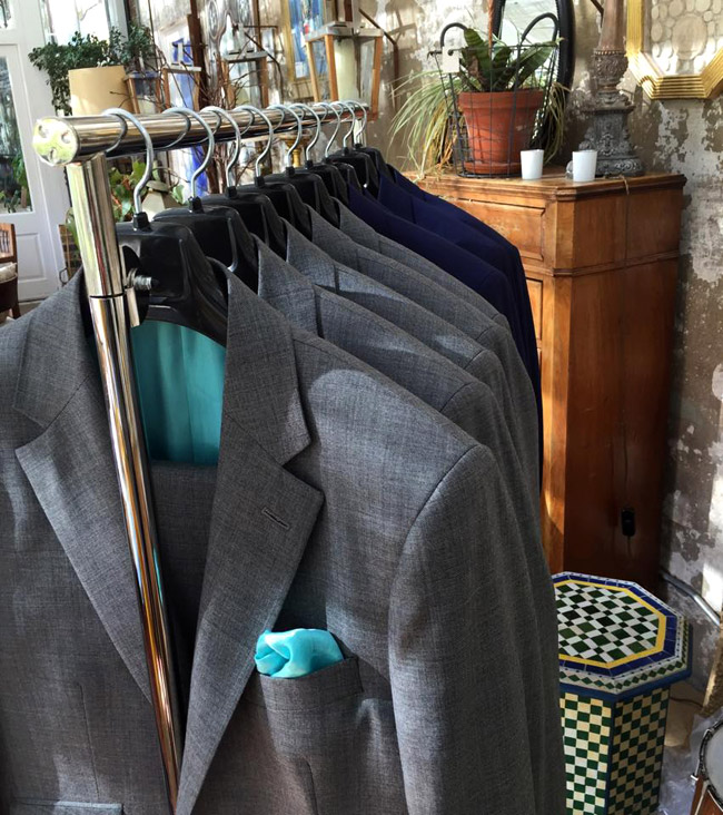 Made-to-order men's suits by Braid & Mackenzie
