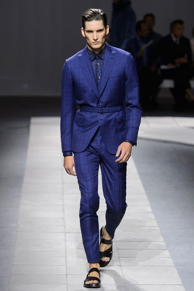 Brioni Spring Summer 2016 The Geometry In The Suit Out