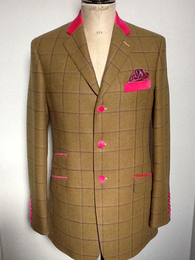 Custom made clothing by Buckingham Tailors