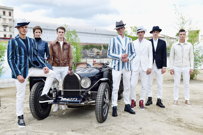 Bugatti enters collaboration with LUISAVIAROMA