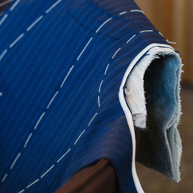Made-to-measure suits by Canali - the Su Misura suits