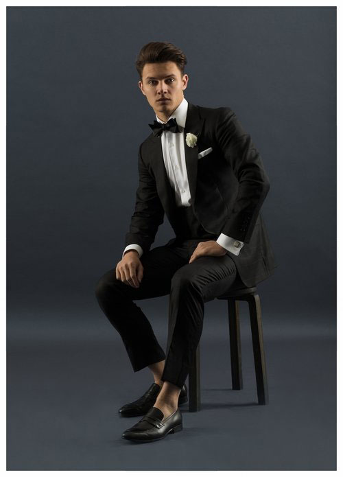 Individually tailored suits by Carl Nave