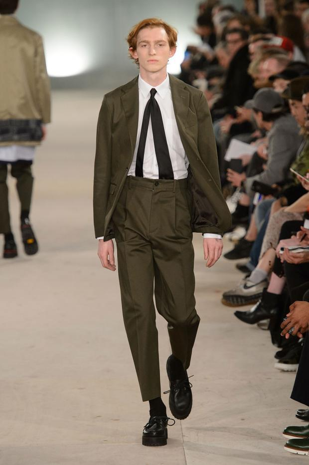 Casely-Hayford Fall/Winter 2016-2017 - blend of exquisitely tailored garments mixed with streetwear