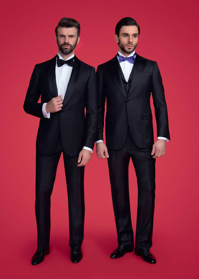 Italian tailor-made suits by Castello d'Oro
