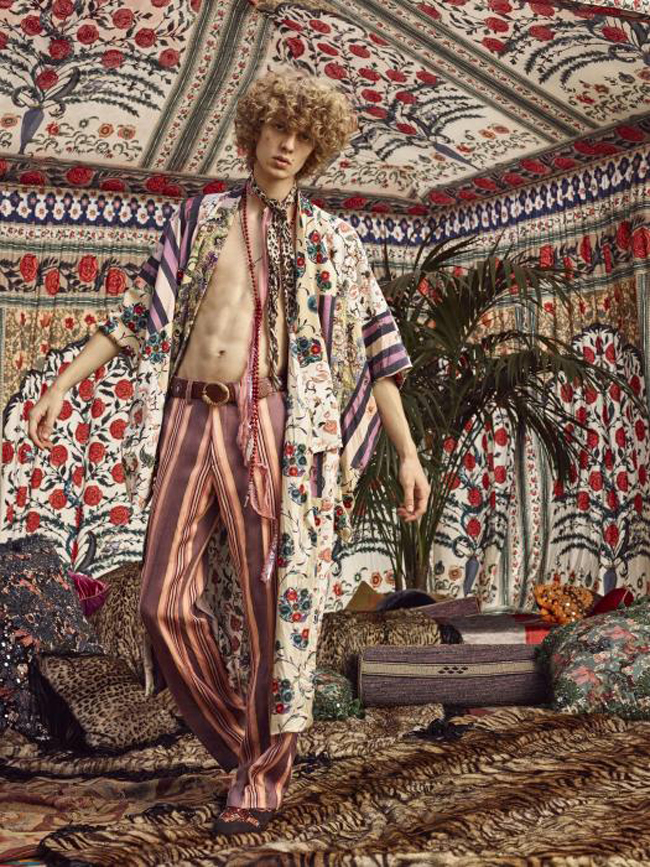 Roberto Cavalli Spring/Summer 2017 collection - boho style
